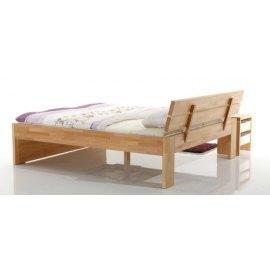 Drewniane łóżko dla dwojga - Meteor