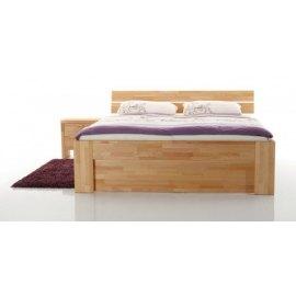 Masywne łóżko drewniane - Meteor