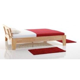 Nowoczesne łóżko do sypialni drewniane Kodo 1