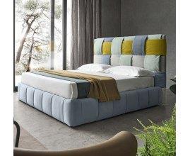 Brita - Designerskie łóżko tapicerowane