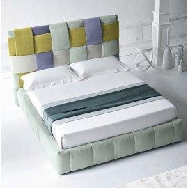 Łóżko tapicerowane z nowoczesnym designem