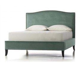 King - Klasyczne łóżko tapicerowane