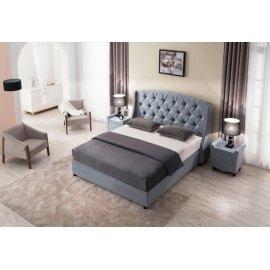 Łóżko tapicerowane klasyczne Linea