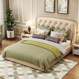 Łóżko pikowane do klasycznej sypialni Linea 2