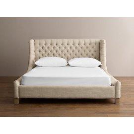 Maja łóżko do sypialni w stylu hampton