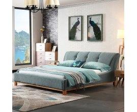 Łóżko z wygodnym oparciem Samanta