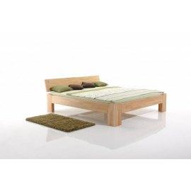 Łóżko do sypialni drewniane