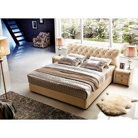 Łóżko w stylu chesterfield - Gabon