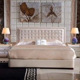 Łóżko z pikowaniem Verona