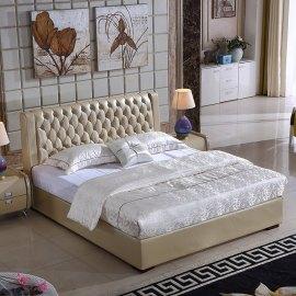 Łóżko pikowane do sypialni Set