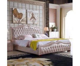 Panama - łóżko tapicerowane pikowane