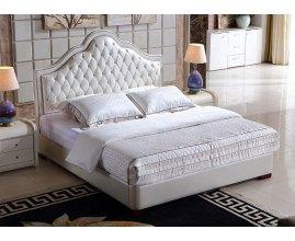 Opera - łóżko dwuosobowe pikowane