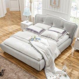 tapicerowane łóżko stylizowane Luke