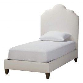 Tapicerowane łóżko dla dziecka Vinci