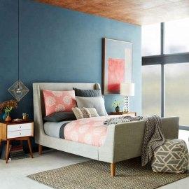 Łóżko do sypialni stylowe Seul