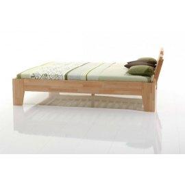 łóżko nowoczesne z drewna - Yes 2