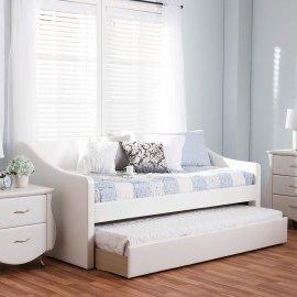 Łóżko podwójne z szufladą Elda