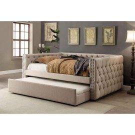 Łóżko pikowane z szufladą Danton