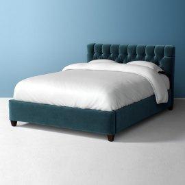 Klasyczne łóżko tapicerowane Mako