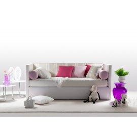 Tapicerowane łóżko dla dziecka Somero