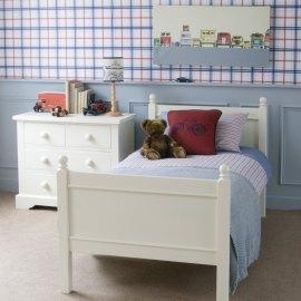 Lilo - białe łóżko dla dziecka