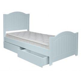 Snow - łóżko dla dziecka z szufladami