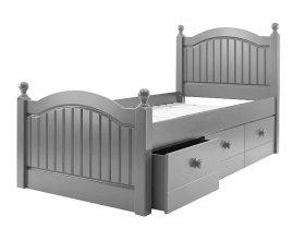 Smart - angielskie łóżko z szufladami