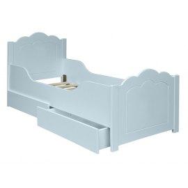 Mia - łóżko młodzieżowe z szufladami