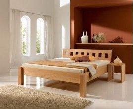 Bend - łóżko z drewna