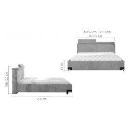Wymiary łóżka Gracjan