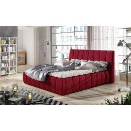Łóżko tapicerowane z szufaldą Seweryn
