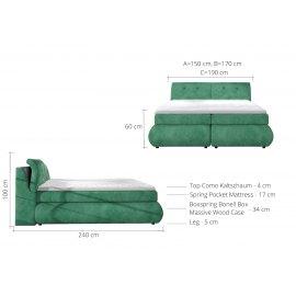 Łóżko Omega wymiary