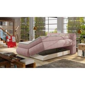 Łóżko z 4 pojemnikami Omega