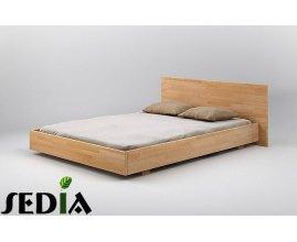 Beryl - Nowoczesne łóżko z drewna
