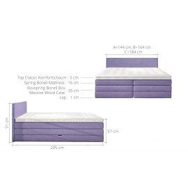 Wymiary łóżka Poprad