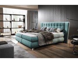 Nowoczesne łóżko kontynentalne Rodi