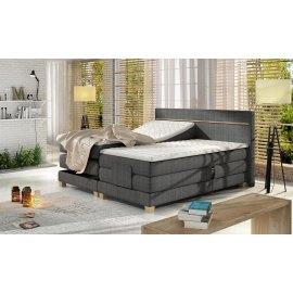 Łóżko z regulowanym materacem Armani