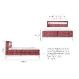 Wymiary łóżka Turin
