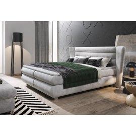 Nowoczesne łóżko kontynentalne Alfred