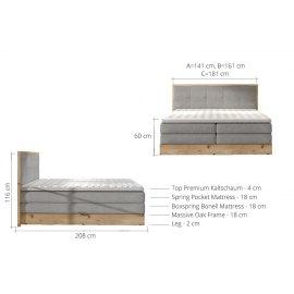 Wymiary łóżka Lorento