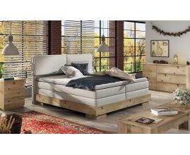 Kontynentalne łóżko dębowe Bolonia