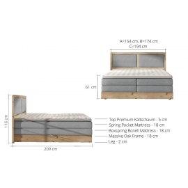 Ines wymiary łóżka