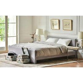 Tapicerowane łóżko skandynawskie Gilberto