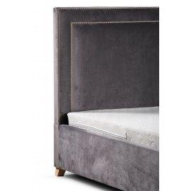 Wezgłowie łóżka w welwetowej tkaninie