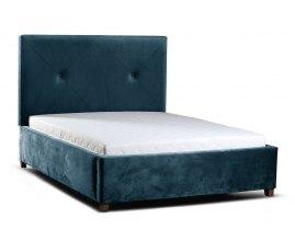 łóżko do stylizowanej sypialni Greg