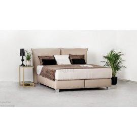 Łóżko tapicerowane Etno