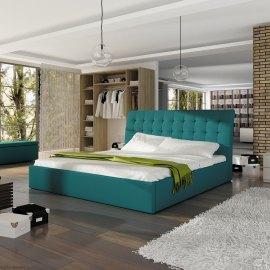 Łóżko tapicerowane Rumba