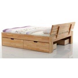 łóżko do sypialni z szufladami Pallad