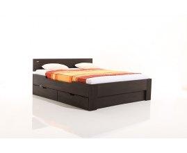 Perła - Łóżko drewniane z szufladami
