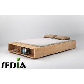 Łóżko z półką na książki - Iryd